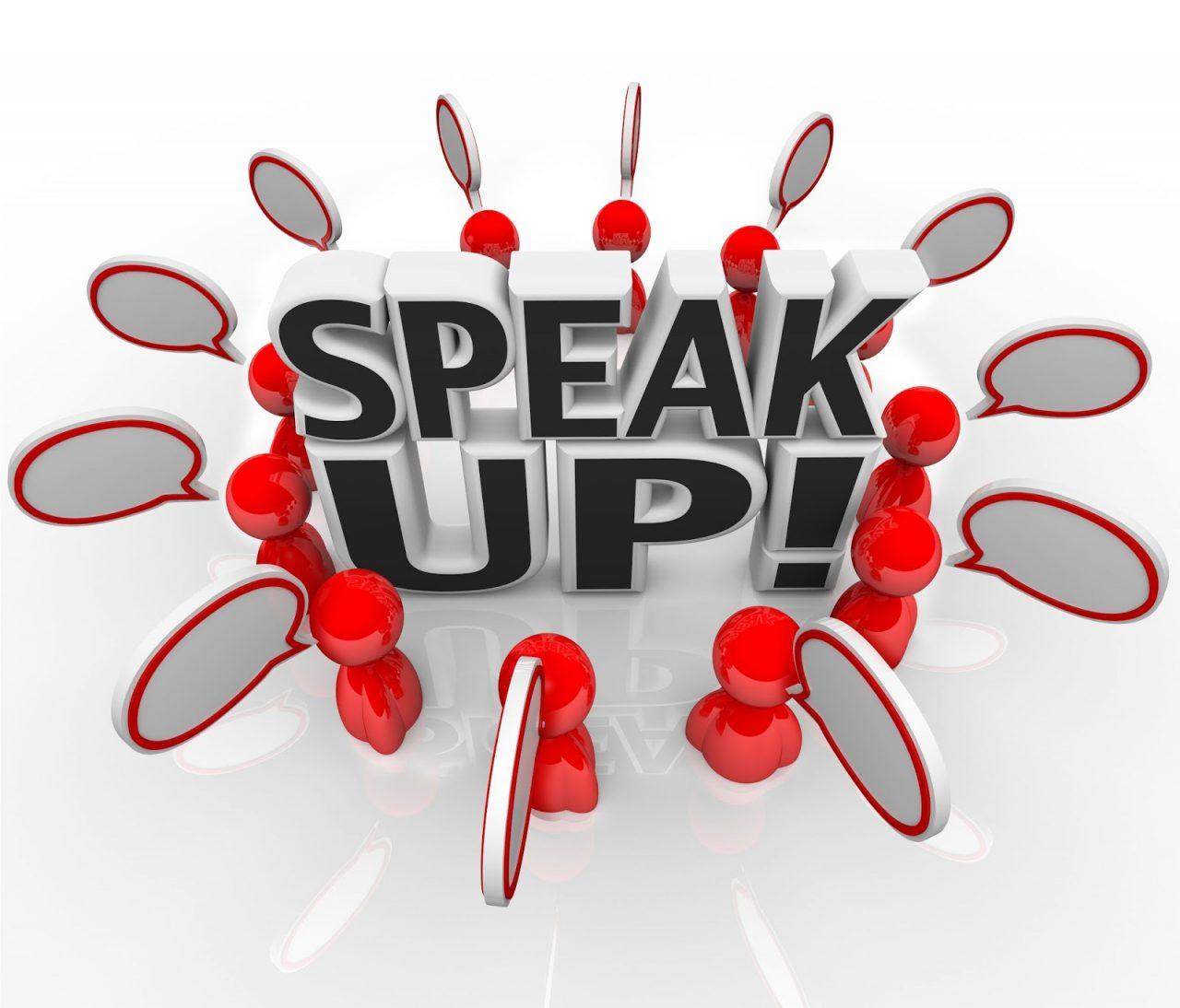 people speak up Courtesy of iQonceptShutterstockcom_93951835