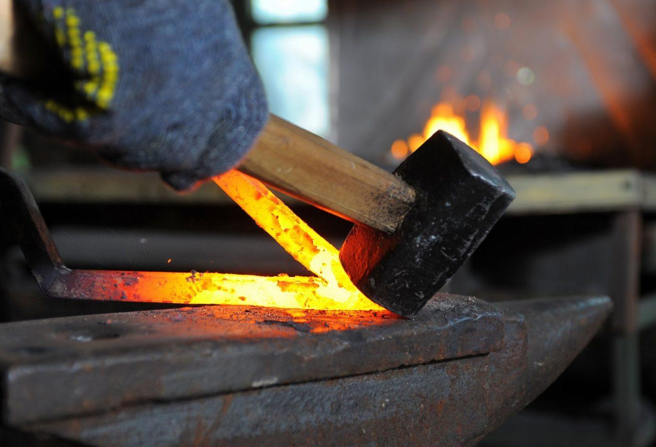 blacksmith red hot iron Courtesy of Valeriy LebedevShutterstockcom _90668104
