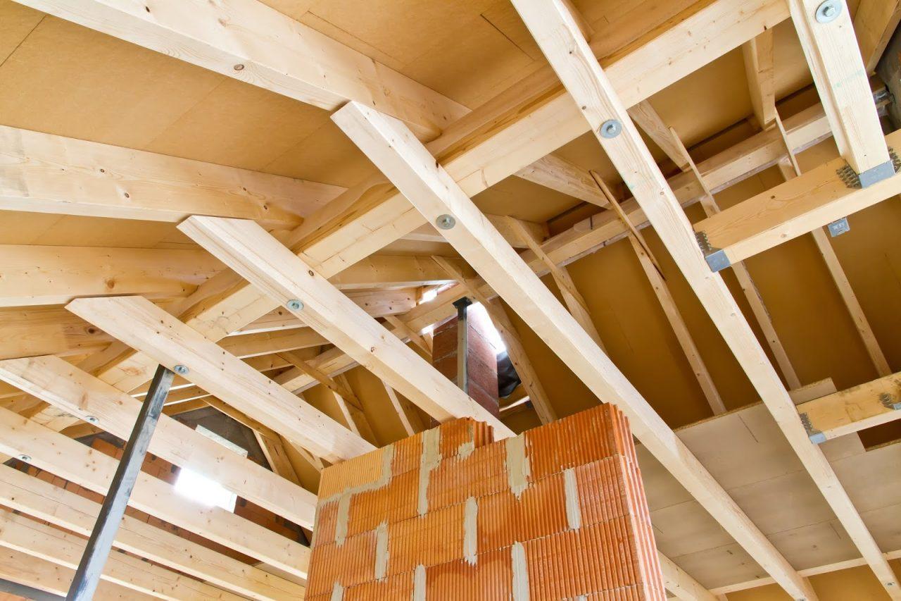 roof trusses brace yourself joists Courtesy of Juergen Faelchle Shutterstockcom 147707432