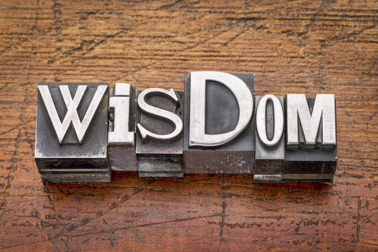 wisdom block words Courtesy of marekuliaszShutterstockcom_234816055
