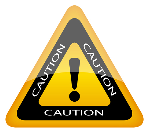 exclamation point caution sign Courtesy of ArcadyShutterstockcom _82863097