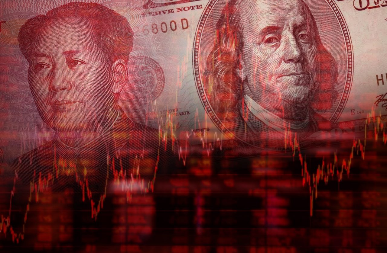 chinese yuan yen american dollar recession depression financial war collapse Courtesy of Shutterstock com My Life Graphic_309077903