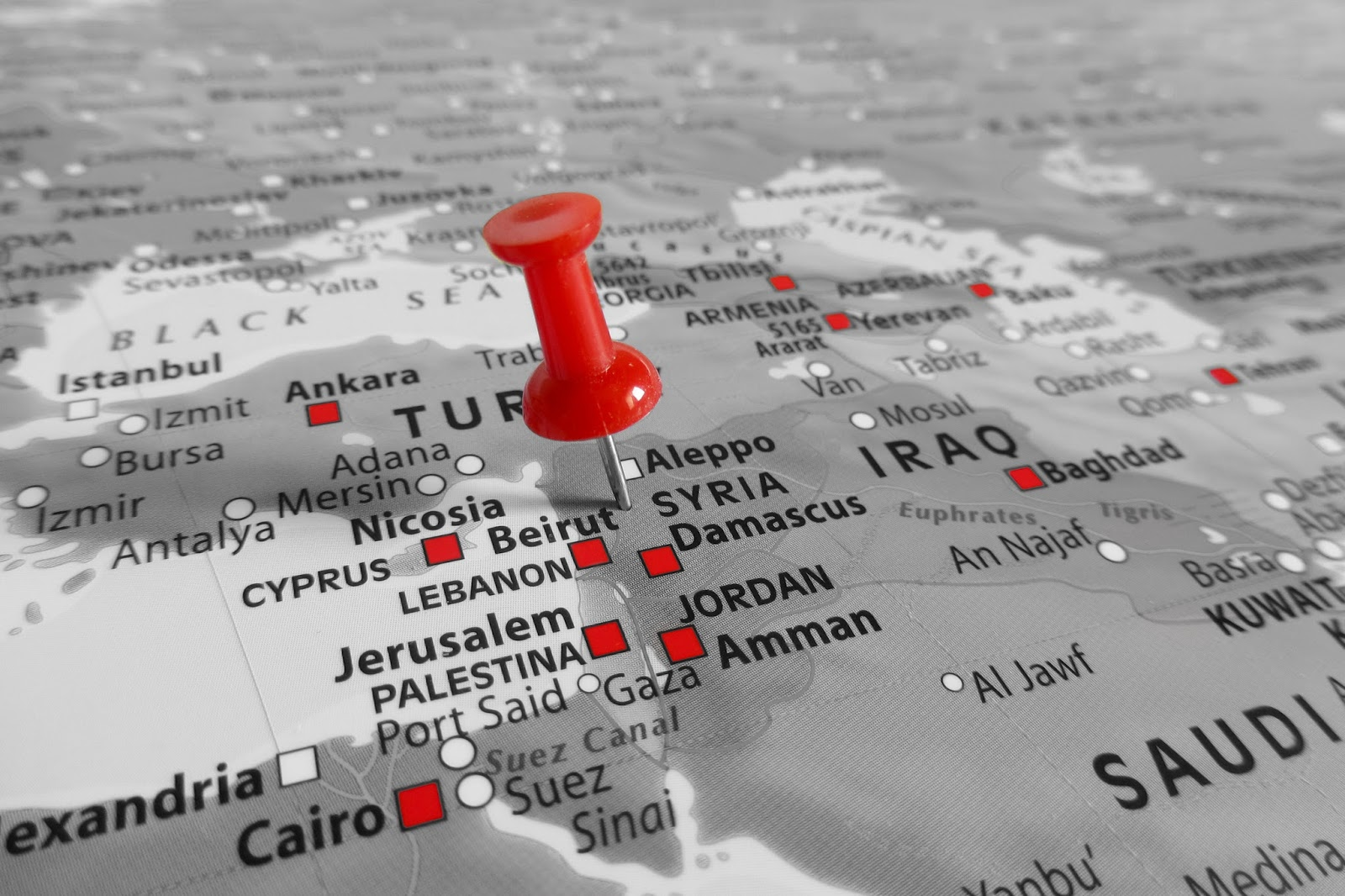middle east crisis syria israel russia courtesy of TonelloPhotography shuttesrstock com _285900158