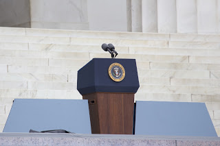 empty presidential podium Courtesy of Joseph Sohm Shutterstockcom_165892070