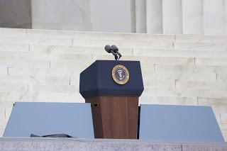 empty presidential podium Courtesy of Joseph Sohm Shutterstockcom_165892070