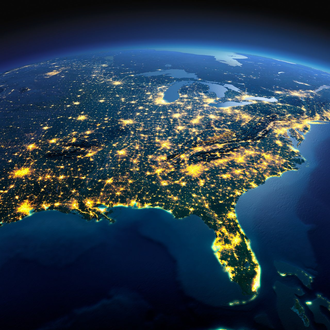revival hot spots america at night air space Courtesy of Shutterstock com Anton Balazh_344122589 1920×1280