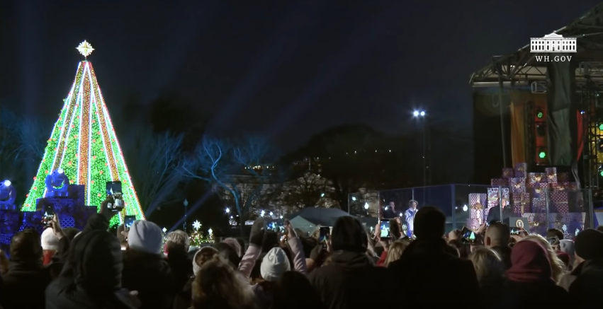 Screenshot_2018-12-19 (3) President Trump and the First Lady Participate in the National Christmas Tree Lighting Ceremony -[…]