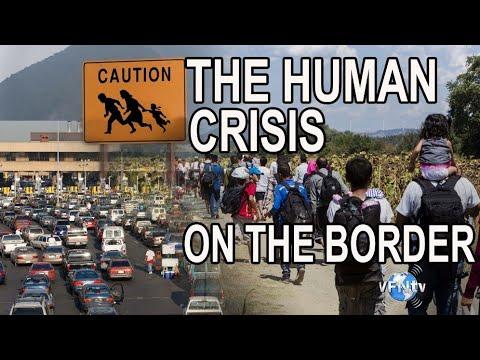image human crisis on border