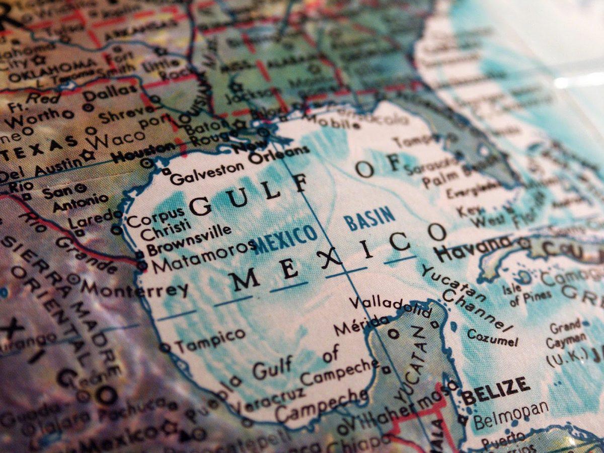 gulf coast map globe Courtesy of Bruce Rolff Shutterstockcom_57442510